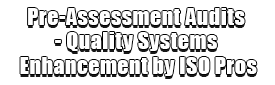 Pre-Assessment Audits - Quality Systems Enhancement by ISO Pros Logo